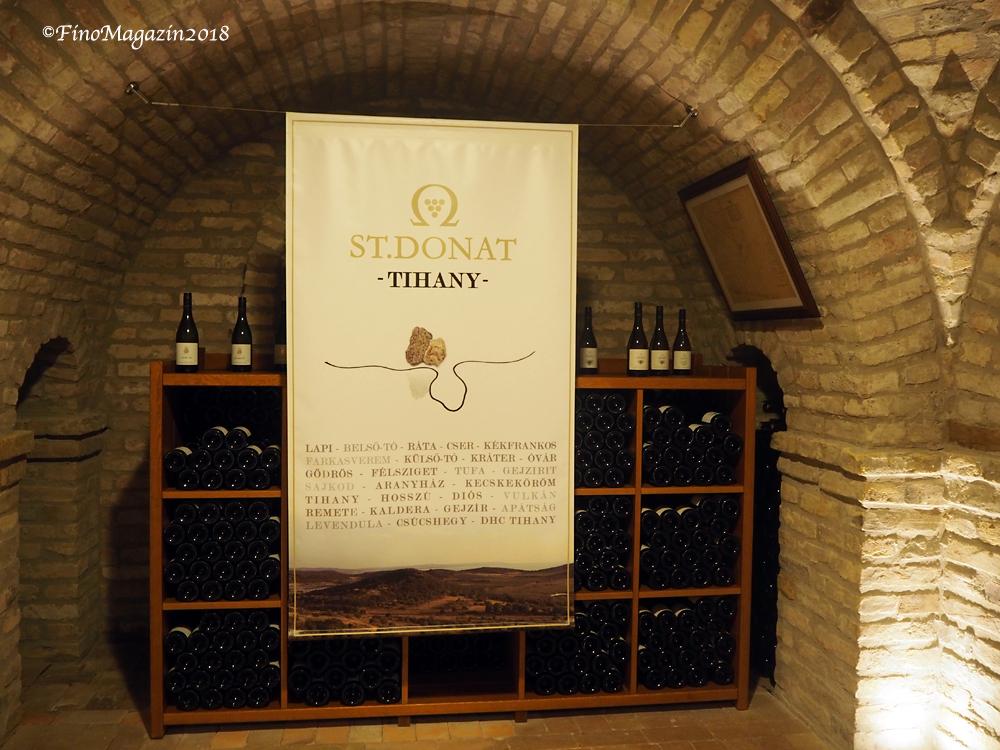 ST.DONAT Wine Cave Tihany by©Papp Hideko, FinoMagazin2018, FinesseWinepia2020